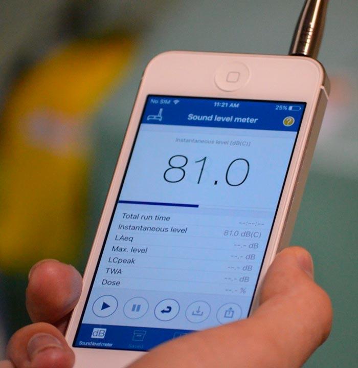Как измеряют шум дома