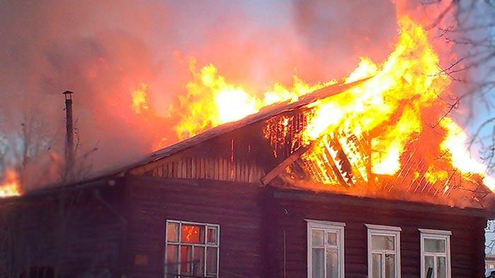 Поджог дома