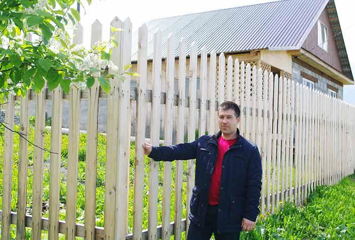 Как можно устанавливать забор