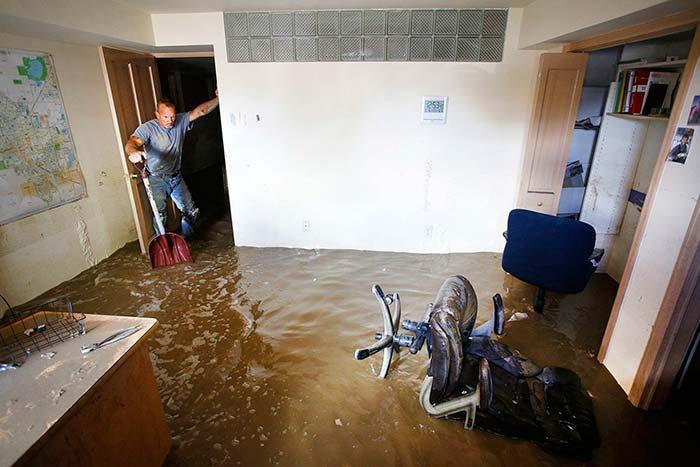 Что делать если затопил соседей